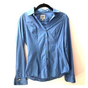 Express The Essential Shirt blue xs